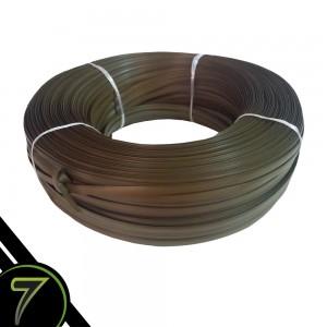 fibra sintetica verde mesclado fita rolo unidade