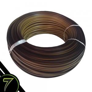 fibra sintetica caramelo cordao rolo unidade