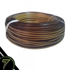 fibra sintetica caramelo cordao kit de 30 rolos