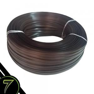 fibra sintetica chocolate escuro fita rolo unidade