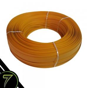 fibra sintetica amarelo fita rolo unidade